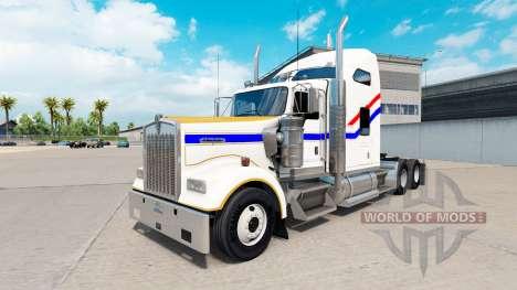La piel del Bicentenario de la v2.0 tractor cami para American Truck Simulator