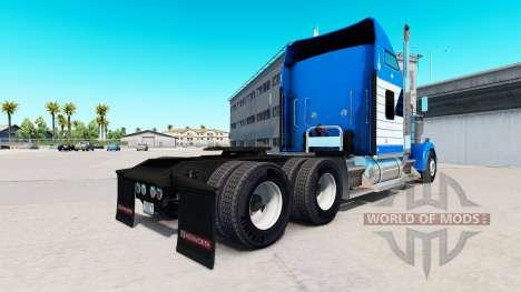La piel Blanquear el Transporte en camión Kenwor para American Truck Simulator