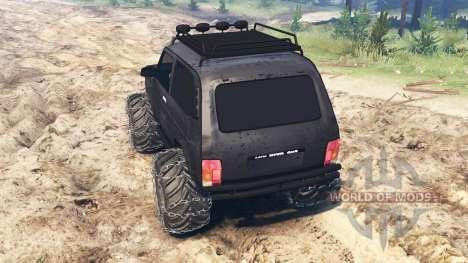 VAZ-21213 Niva para Spin Tires