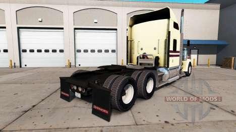 Crema para la piel en el camión Kenworth W900 para American Truck Simulator