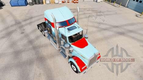 La piel de San Francisco en el camión Kenworth W para American Truck Simulator