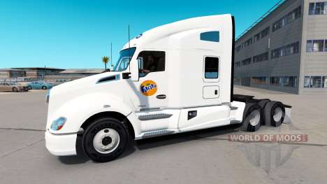 Fanta piel para Kenworth tractor para American Truck Simulator