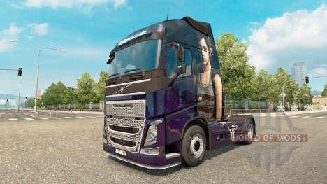 La piel que El Último De Nosotros en Volvo truck para Euro Truck Simulator 2