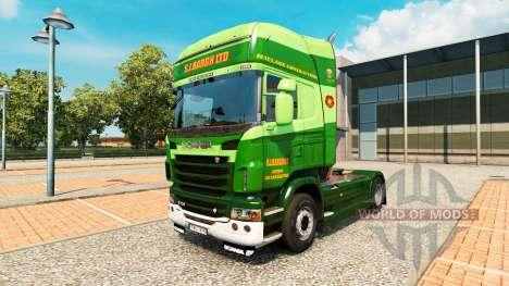 La S. J. Bargh piel para Scania camión para Euro Truck Simulator 2