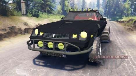 Chevrolet Camaro [offroad edition] para Spin Tires