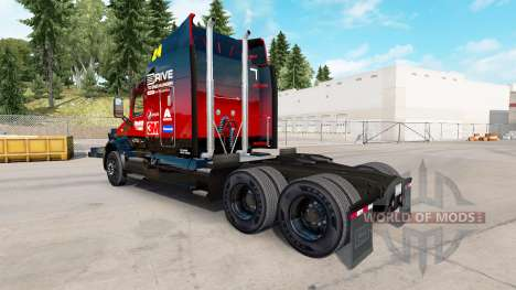 La piel Hendrick v2.0 tractor Peterbilt para American Truck Simulator