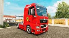 La piel de Ferrari en el tractor HOMBRE