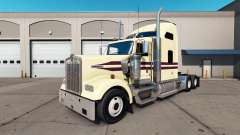 Crema para la piel en el camión Kenworth W900