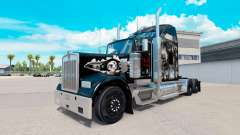 La piel sobre el Cráneo de camiones Kenworth W90