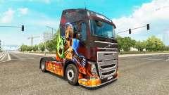 Diablo II de la piel para camiones Volvo