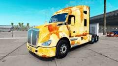 La piel de la Roya en el camión Kenworth