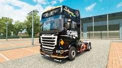 La piel Scania Negro para tractor Scania