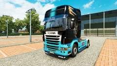 La piel Scania R de Scania truck