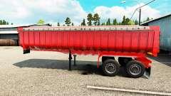 Semi-remolque, camión volquete