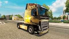 Oro de la piel para camiones Volvo