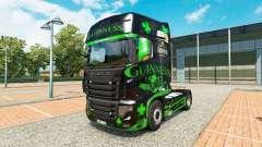 Guinness de la piel para el camión Scania R700