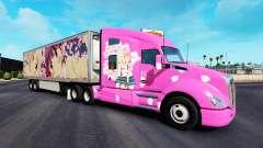 La piel de Sakura para camiones y Peterbilt Kenw