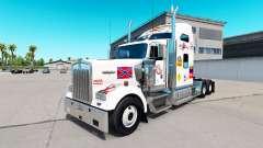La piel de MS en el camión Kenworth W900