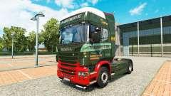 Edwards Transporte de la piel para Scania camión
