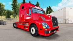 La piel Averitt Express tractor Volvo VNL 670