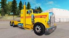 Amarillo Personalizado de la piel para el camión