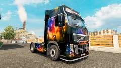 El Color de la piel de la Pared de Volvo trucks