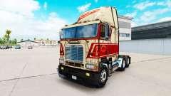 La piel en Sherman Bros camión Freightliner FLB