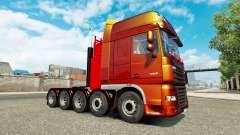 Adicional para el chasis de tractor DAF XF