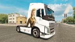 Los vikingos de la piel para camiones Volvo