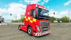 La piel de Incendio Y Rescate en Volvo trucks