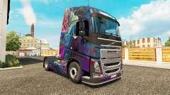 El Fractal de la Llama de la piel para camiones