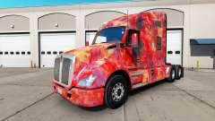 La piel Abstracto para camión Kenworth