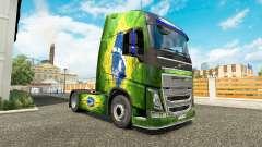 La piel Brasil en Volvo trucks