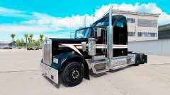 La piel en Blanco y Negro en el camión Kenworth