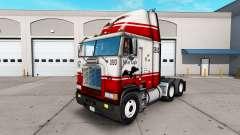 La piel Silver Eagle camión Freightliner FLB