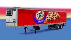 Refrigerado semi-remolque Fiesta de Pizza