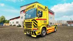 GATO de la piel para camión Scania