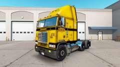 La piel en el CCC camión Freightliner FLB