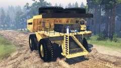 Camión de minería de datos Godzilla v2.0