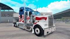 La piel, estados UNIDOS camión Kenworth W900