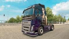 La piel que El Último De Nosotros en Volvo truck