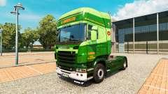 La S. J. Bargh piel para Scania camión