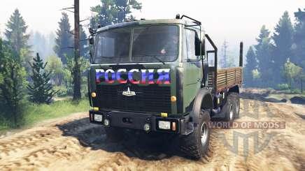 MAZ-6317 v3.0 para Spin Tires