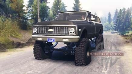 Chevrolet K5 Blazer 1972 para Spin Tires