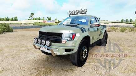 Ford F-150 SVT Raptor v1.4 para American Truck Simulator