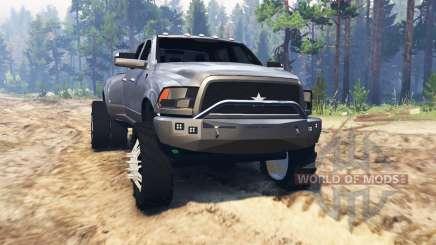 Dodge Ram 3500 Mall Crawler para Spin Tires