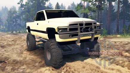Dodge Ram Ext. Cab 1996 para Spin Tires