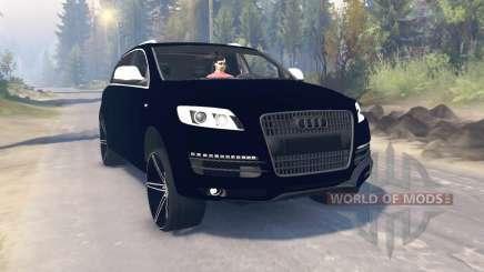 Audi Q7 v3.0 para Spin Tires