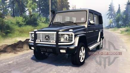 Mercedes-Benz G 500 v3.0 para Spin Tires