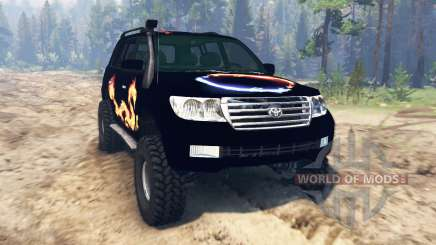 Toyota Land Cruiser 200 2008 para Spin Tires